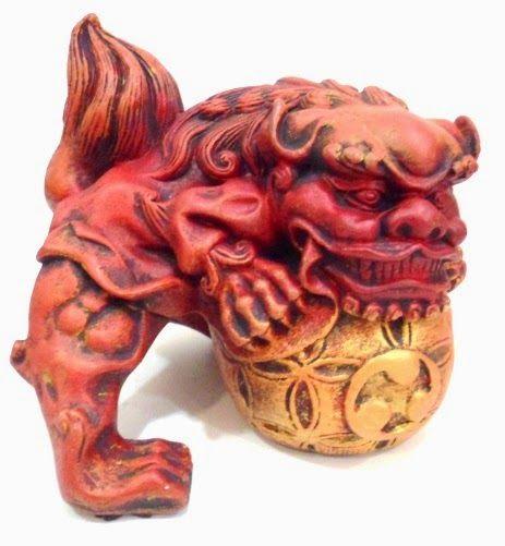 Ateliê Le Mimo: ORIENTAIS  Leão chinês - peça em gesso