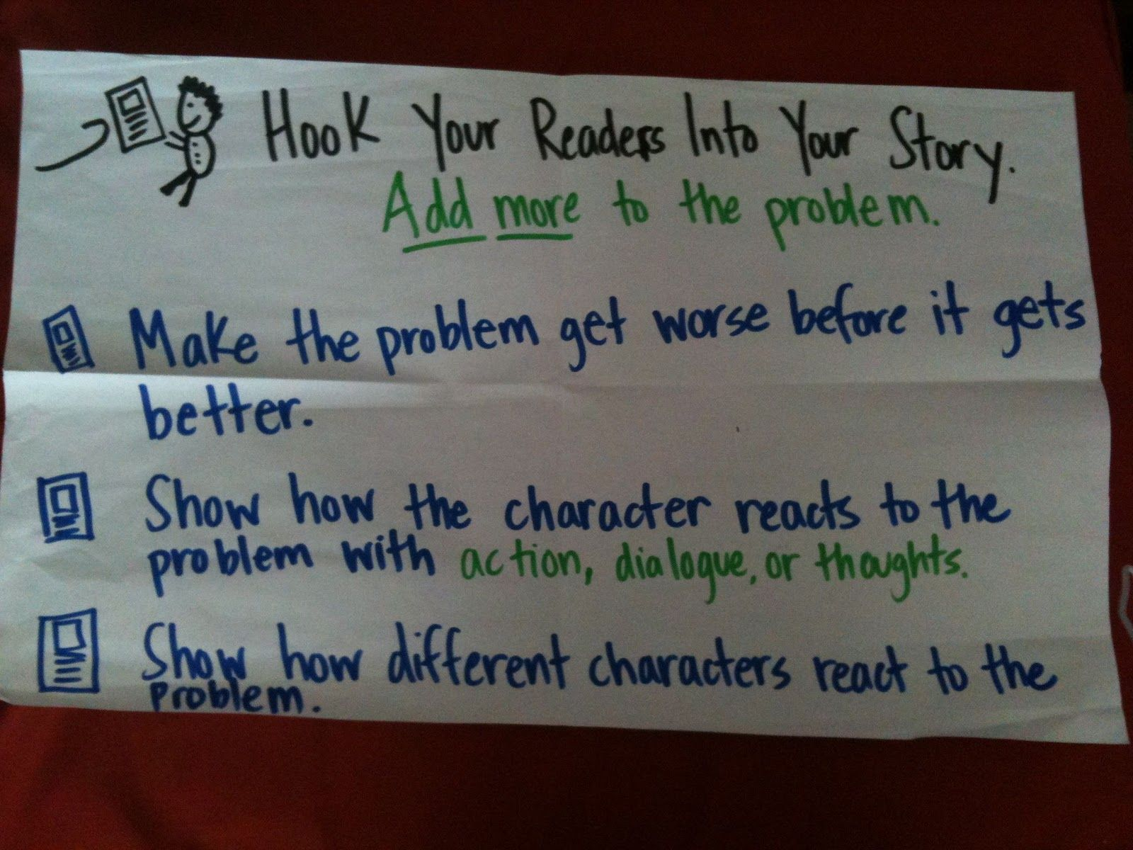Realistic Fiction Charts To Support Student Independence