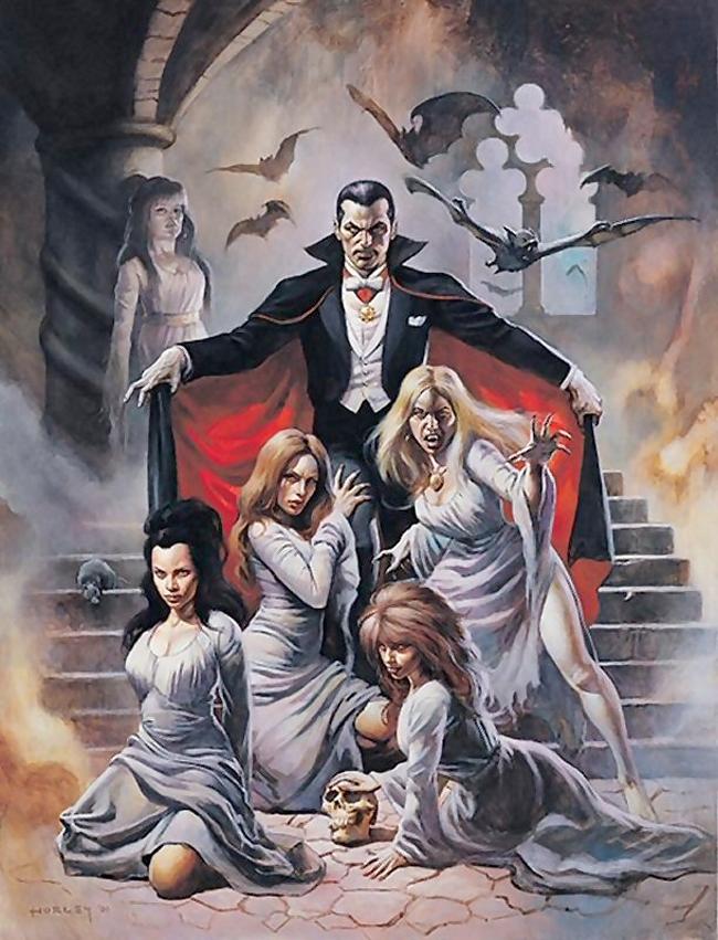 Легенды и картинки вампиров