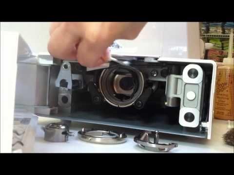 Cleaning Oiling Baby Lock's Sashiko 40 Machine Sewing Leaning To Amazing Sashiko 2 Sewing Machine