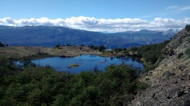 Trekking de las lagunas altas, Cochrane, Chile