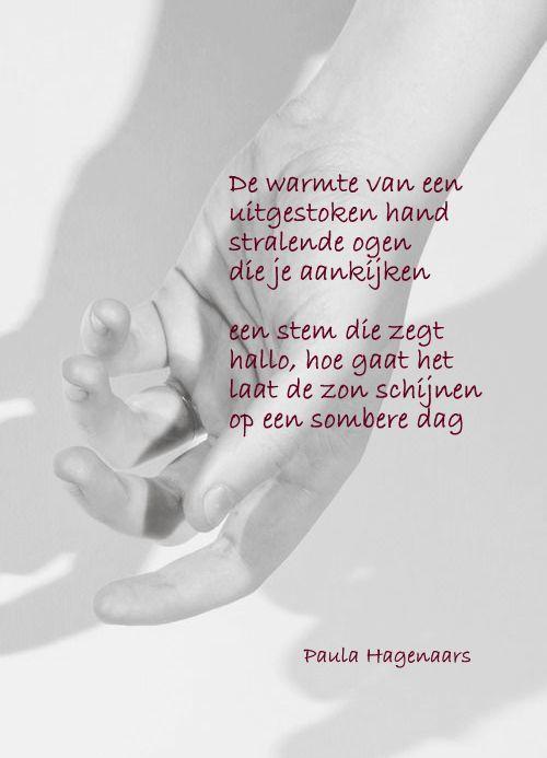 Gedichten Paula Hagenaars Opbeurende Citaten Woorden Gedichten