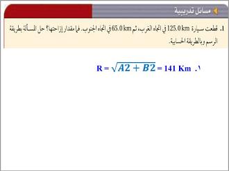 الفيزياء أول ثانوي الفصل الدراسي الأول
