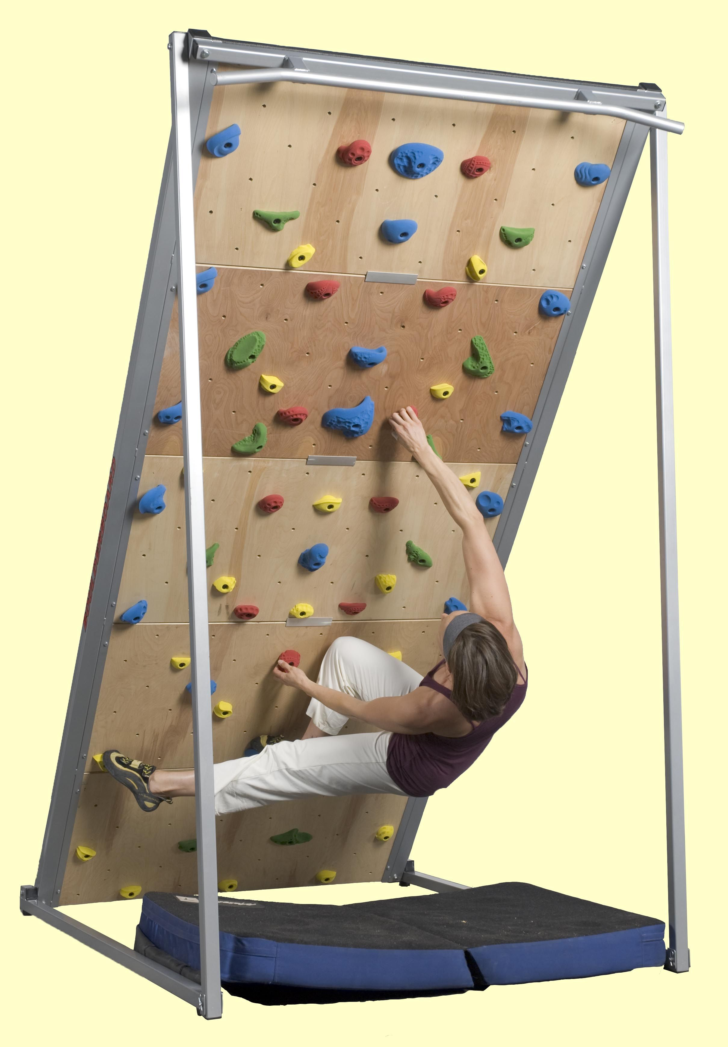 For Those That Like Climbing Try Out The Endless Indoor Climbing Systems From Brewers Ledge For Me Diy Climbing Wall Rock Climbing Wall Home Climbing Wall