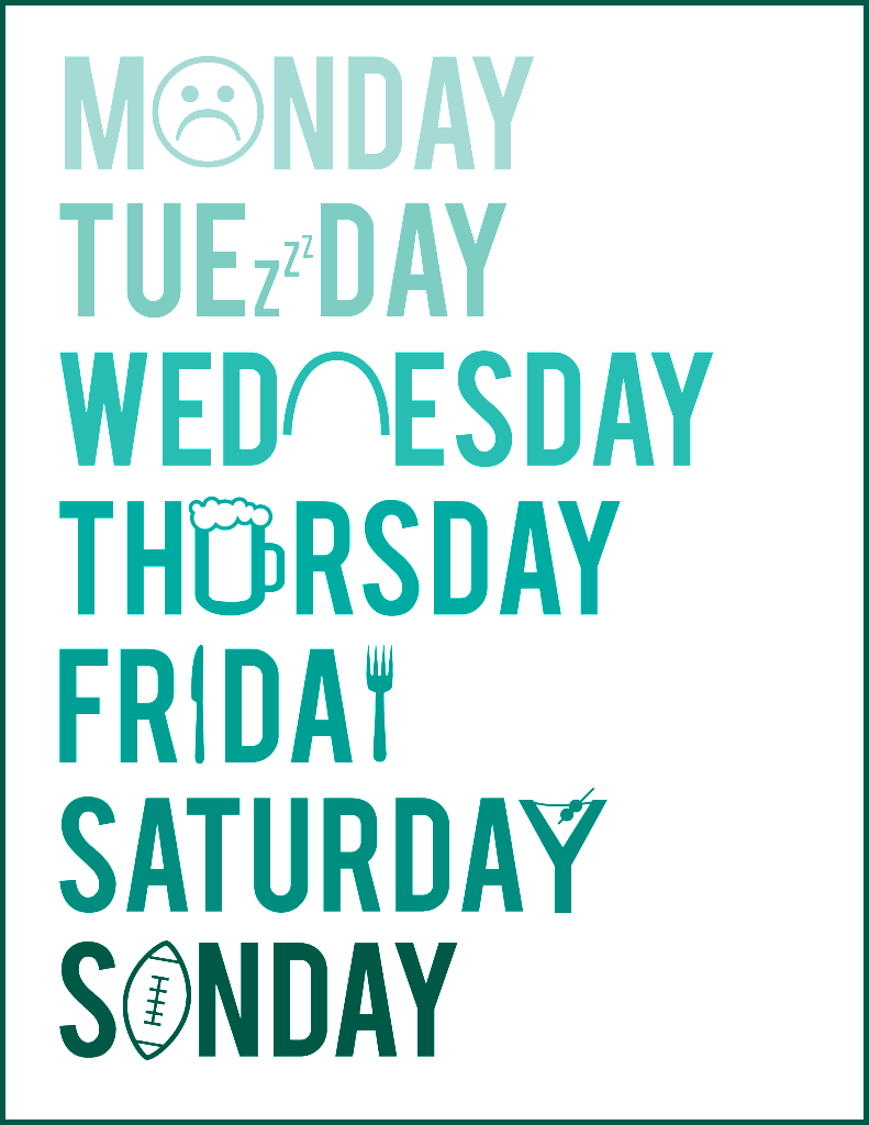 Days Of The Week Monday Quotes Funny Quotes Quotes