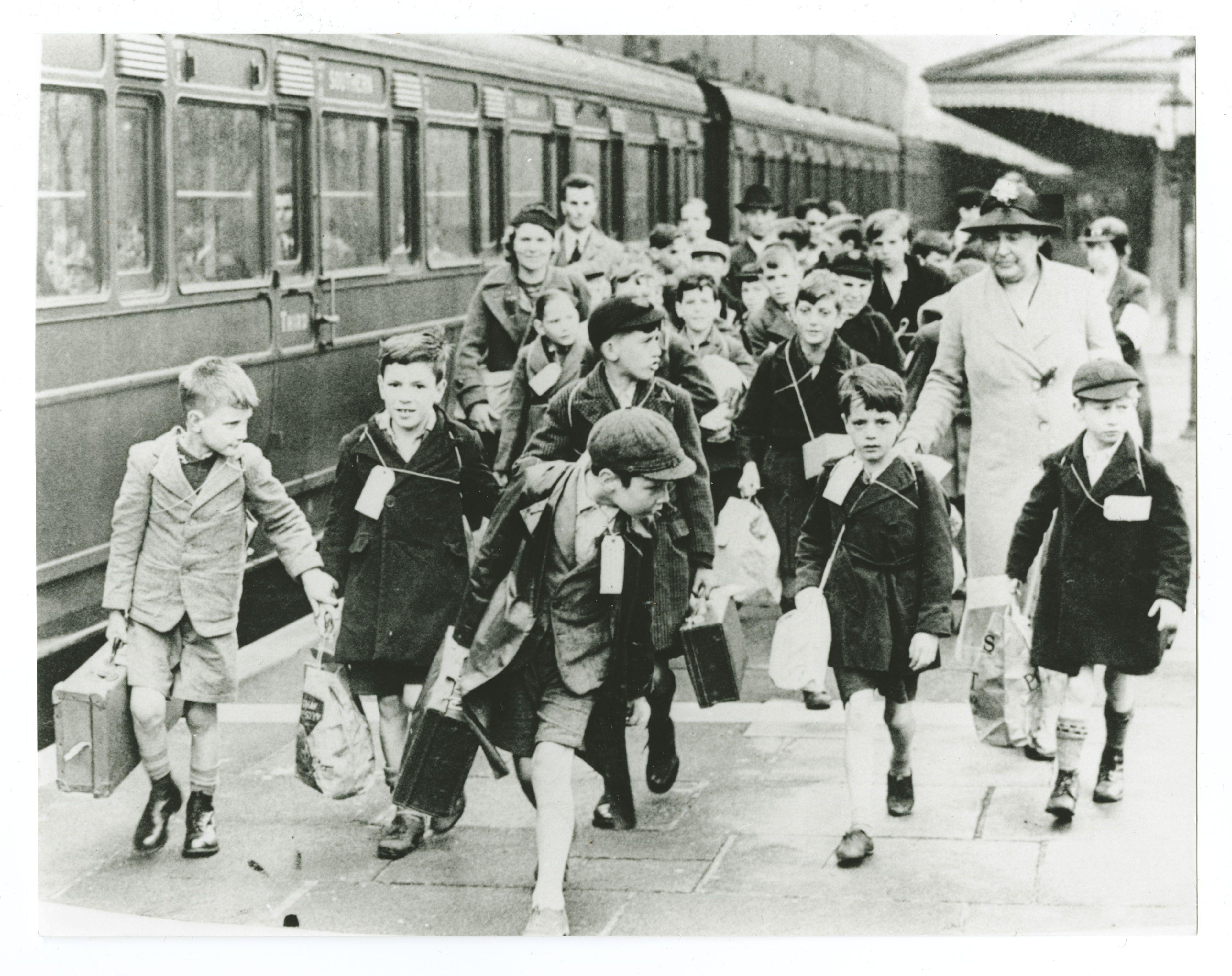 Children Of The Wartime Evacuation Millions Of British