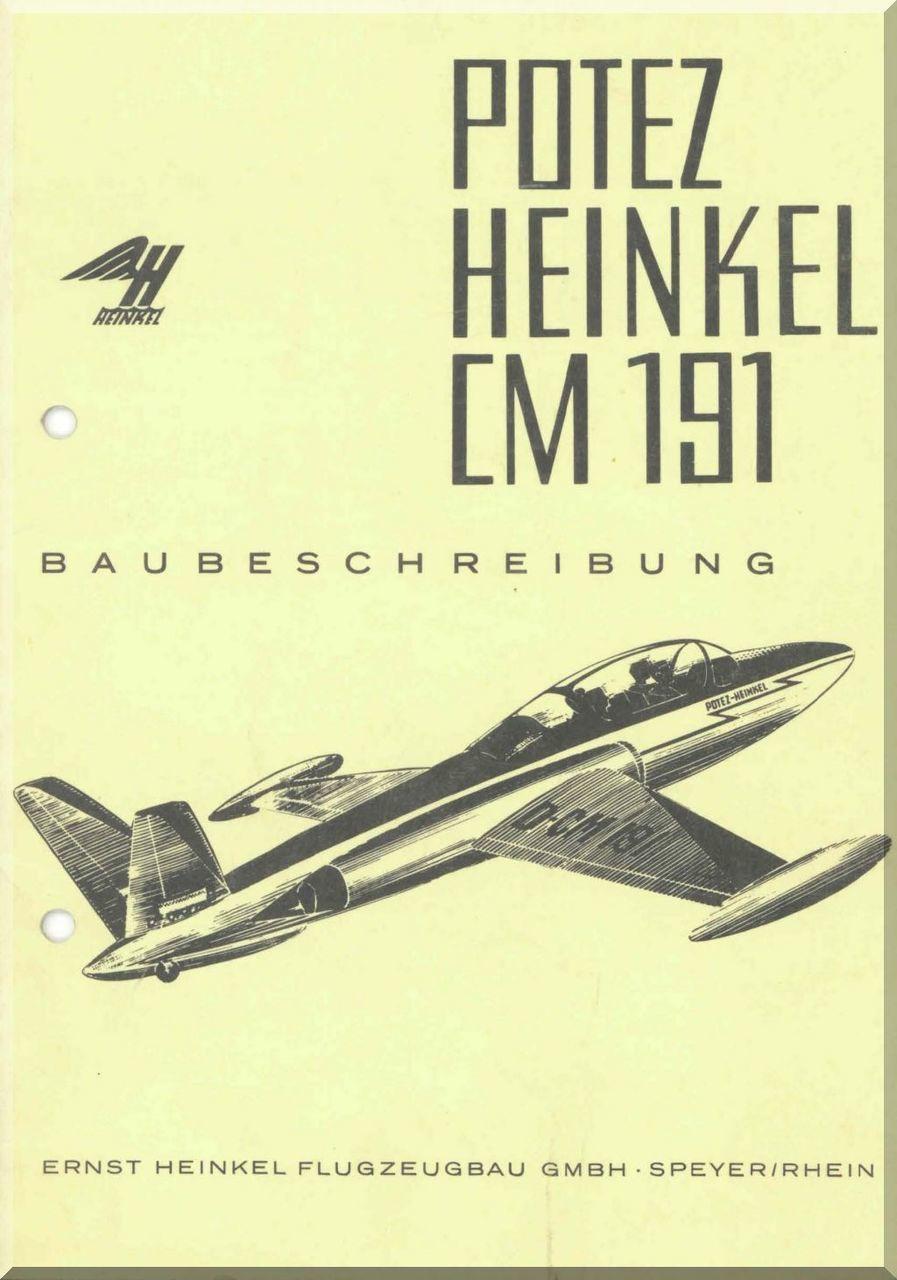Potez / Heinkel CM.191 Aircraft Specification Manual