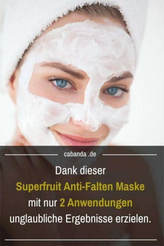 My favorite anti wrinkle mask: Thanks to Superfruit look instantly younger! My favorite anti wrinkle mask: Thanks to Superfruit look instantly younger!