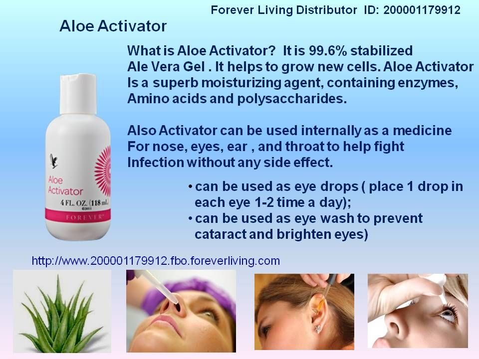 Aloe Fleur De Jouvence Aloe Activator Aloe Activator Contains