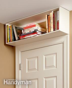 Easy Storage Ideas The Family Handyman Small Bedroom Diy Small Bedroom Storage Storage Hacks Bedroom