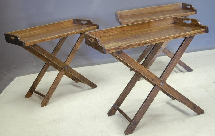 Butlers Trays Side Tables Made By Pierre Cronje Butler