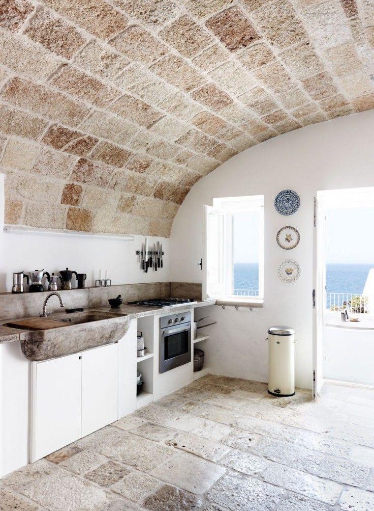 Cuisine Moderne Dans Maison En Pierre: 45 Maisons En Pierre à Couper Le Souffle