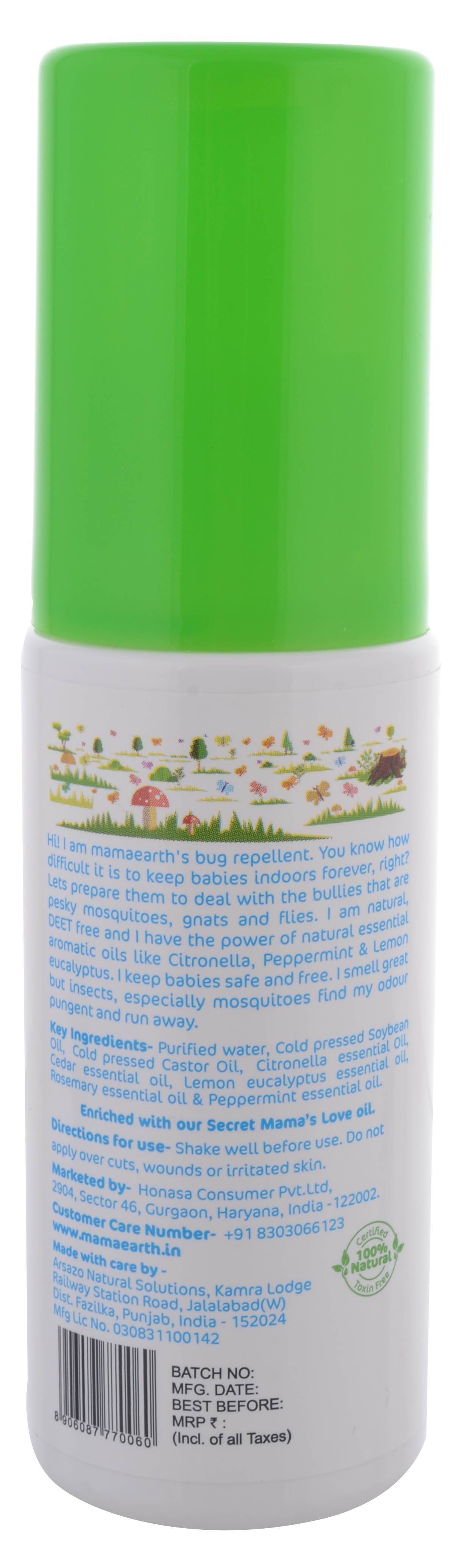 Natural Insect Repellent Buy Mosquito Repellent For Babies Online