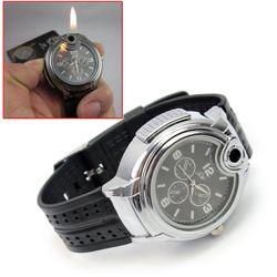 A super cool lighter even james bond would want! http://www.supercoollighters.com/butane-watch-lighter/