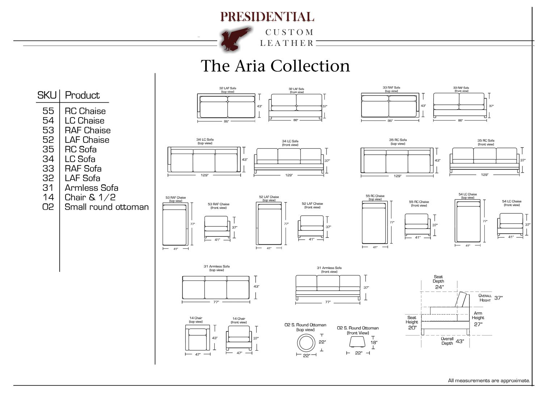 Sectional Sofa Average Sofa Length uac TheSofa