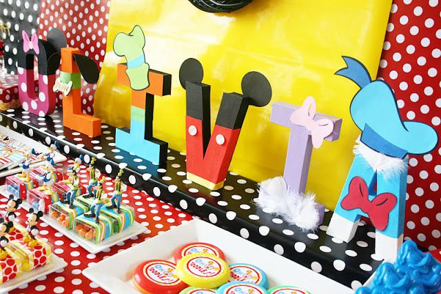 Mickey Mouse Clubhouse Party Ideas Homemade Amandas Parties TO GO