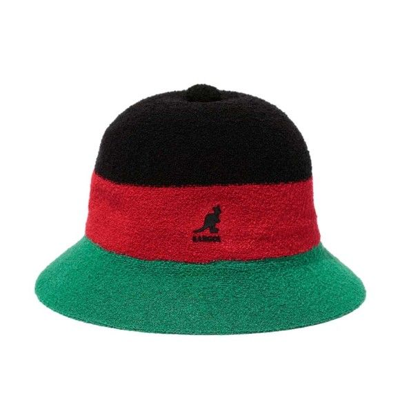 2411245d3c3 Kangol (Pan African Flag Tri-Colored)
