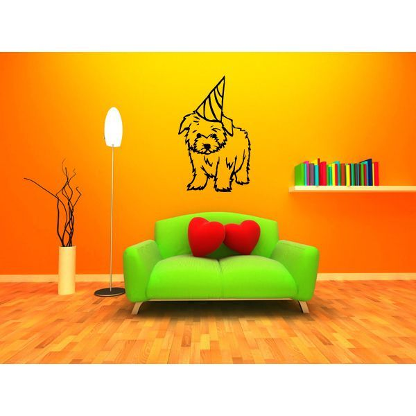 MalteseDog Puppy Breed Pet Wall Art Sticker Decal | Crate Training ...