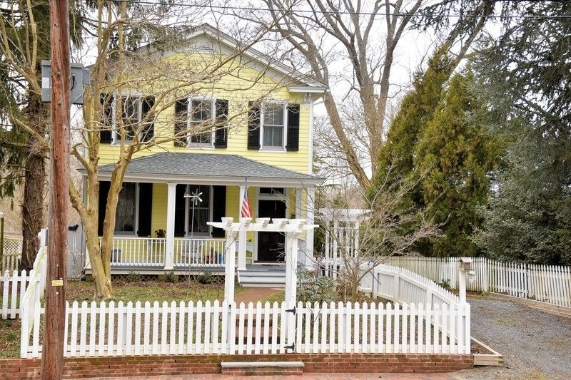 A steal at 319,000.00! OldHouses.com - 1882 Colonial - Charming 1800's Eatern Shore Style Colonial Home in Eastville, Virginia