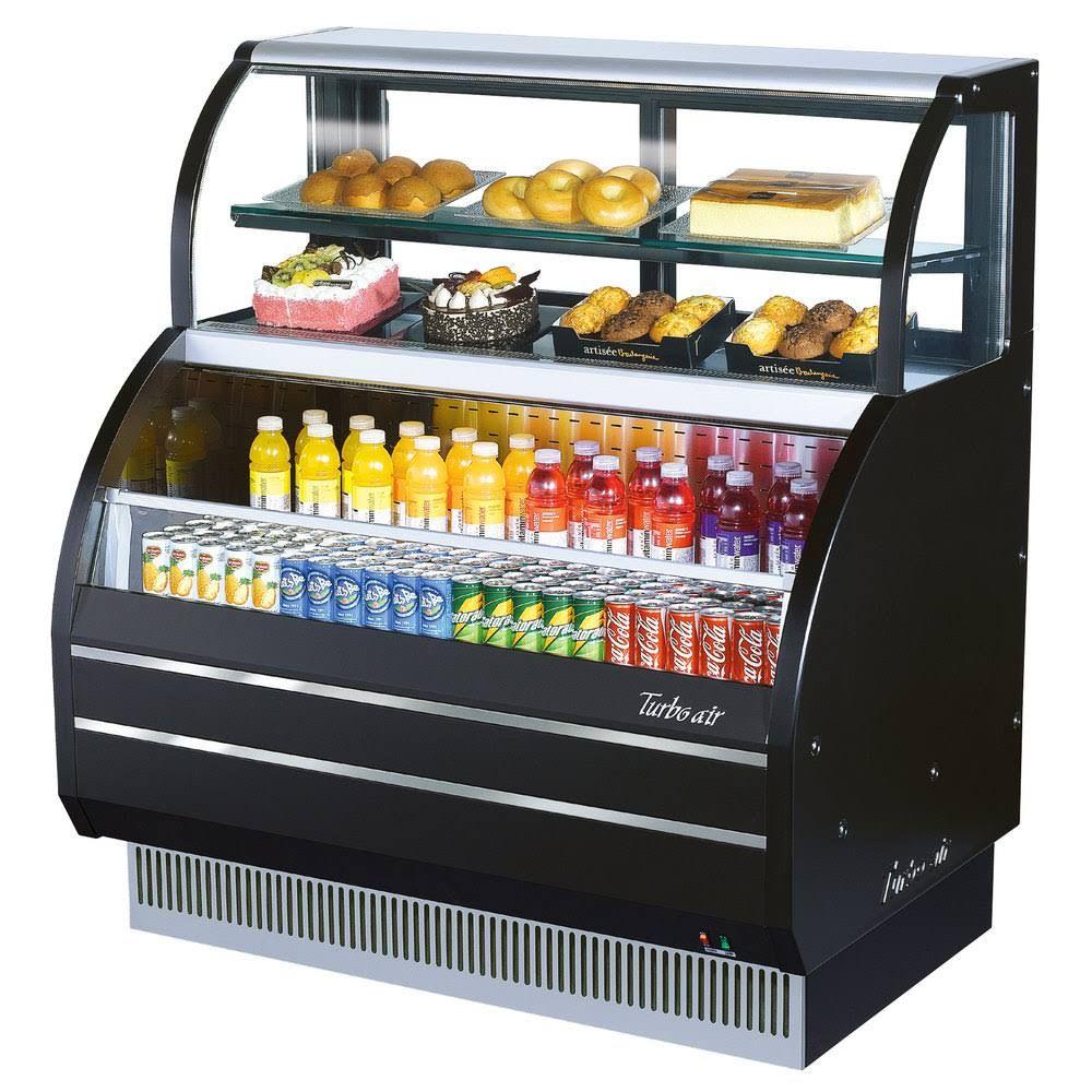 Turbo Air Tom W 40sb Combination Merchandiser With Top Display