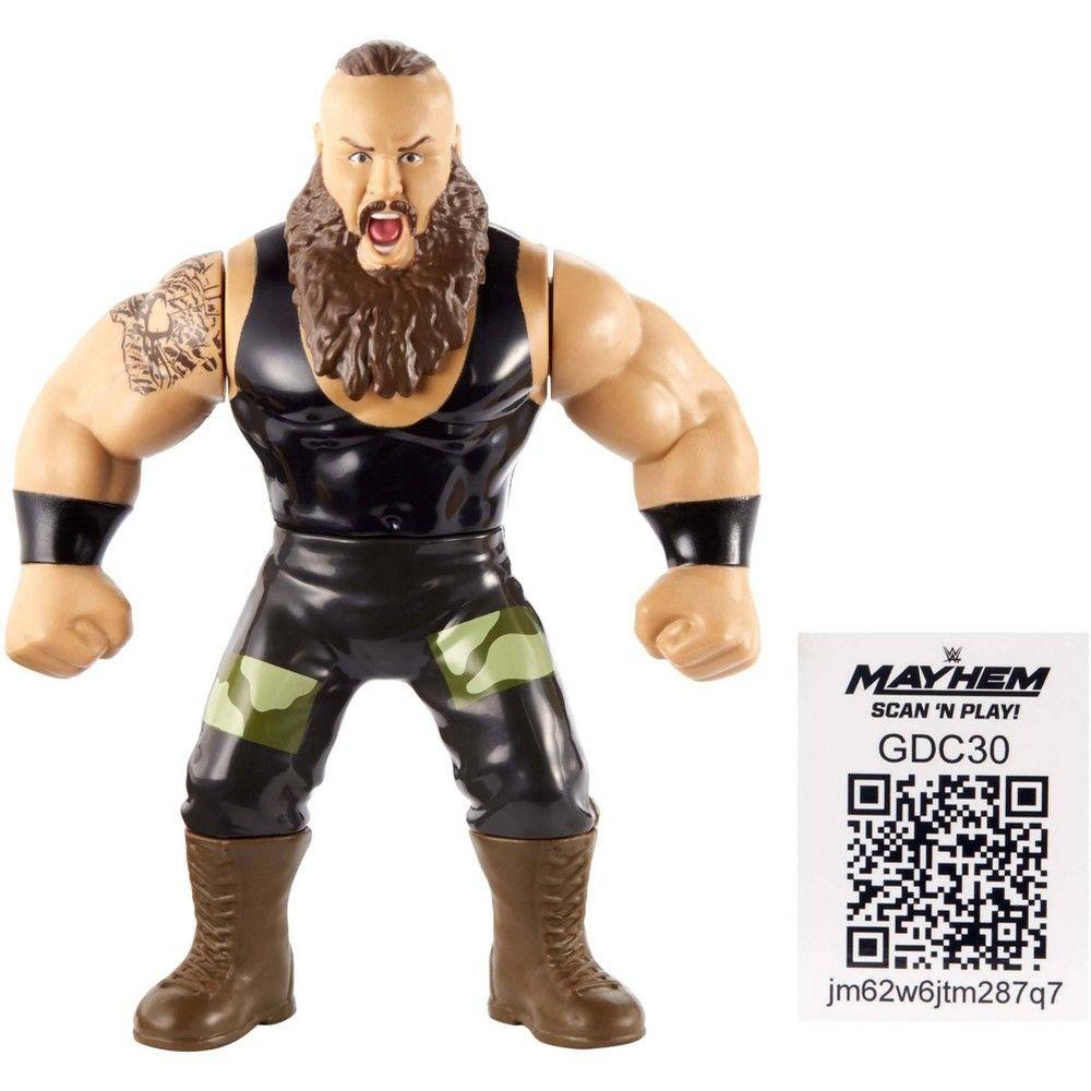 WWE Retro App Braun Strowman Figure Action figures, Wwe