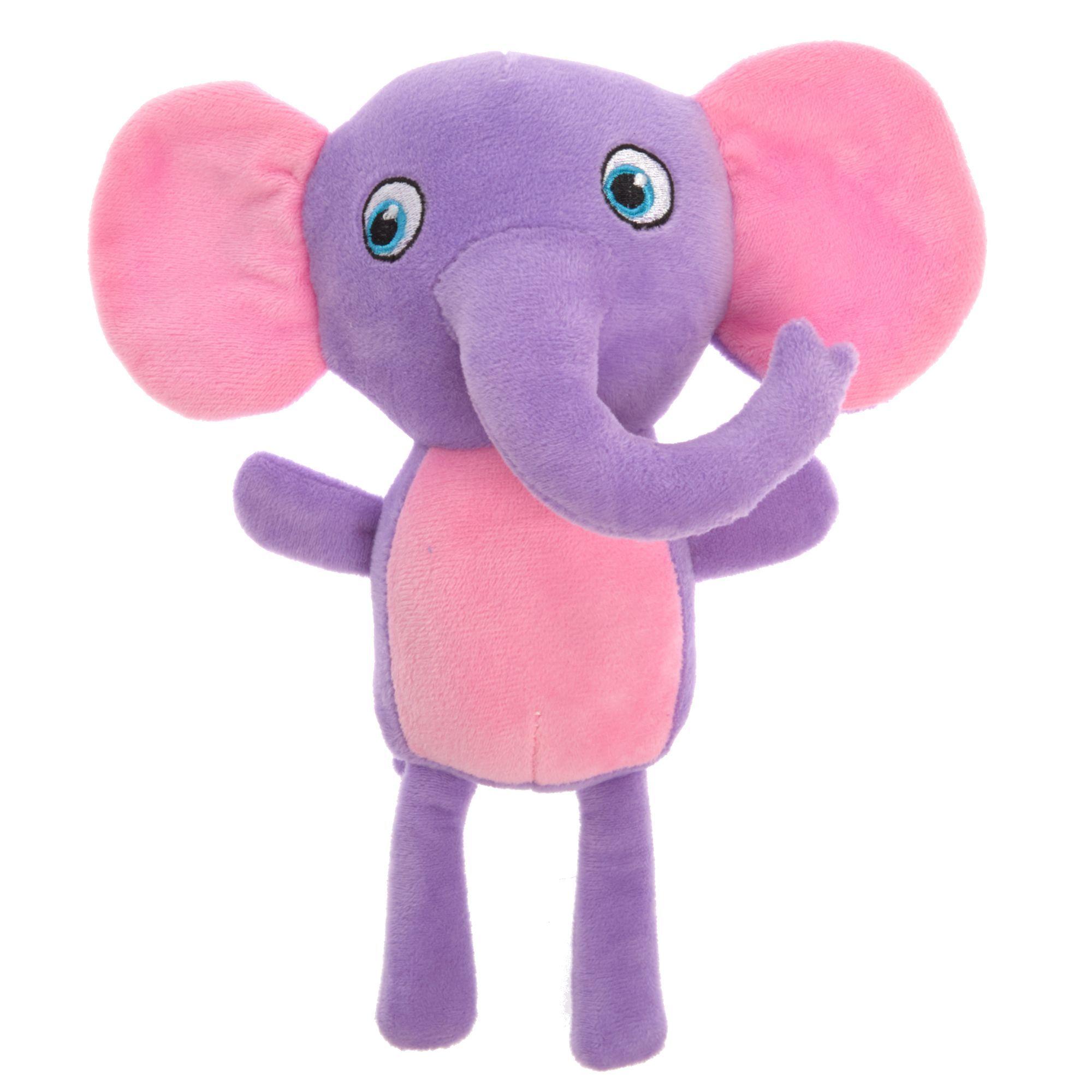 Grreat Choice Spring Elephant Dog Toy Plush Squeaker Plush