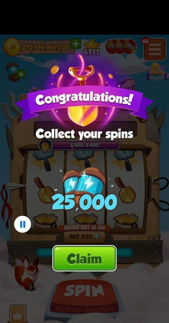 coin master spin generator