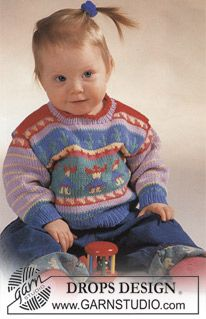 Drops Jumper With Mexican Pattern And Socks In Muskat Drops Design Baby Stricken Baby Pullover Und Kinder Pullover