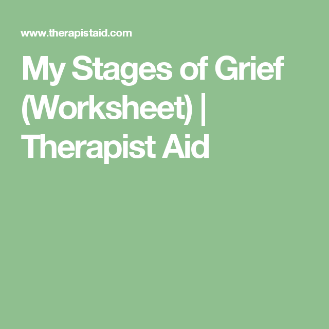 grief counseling and grief therapy pdf