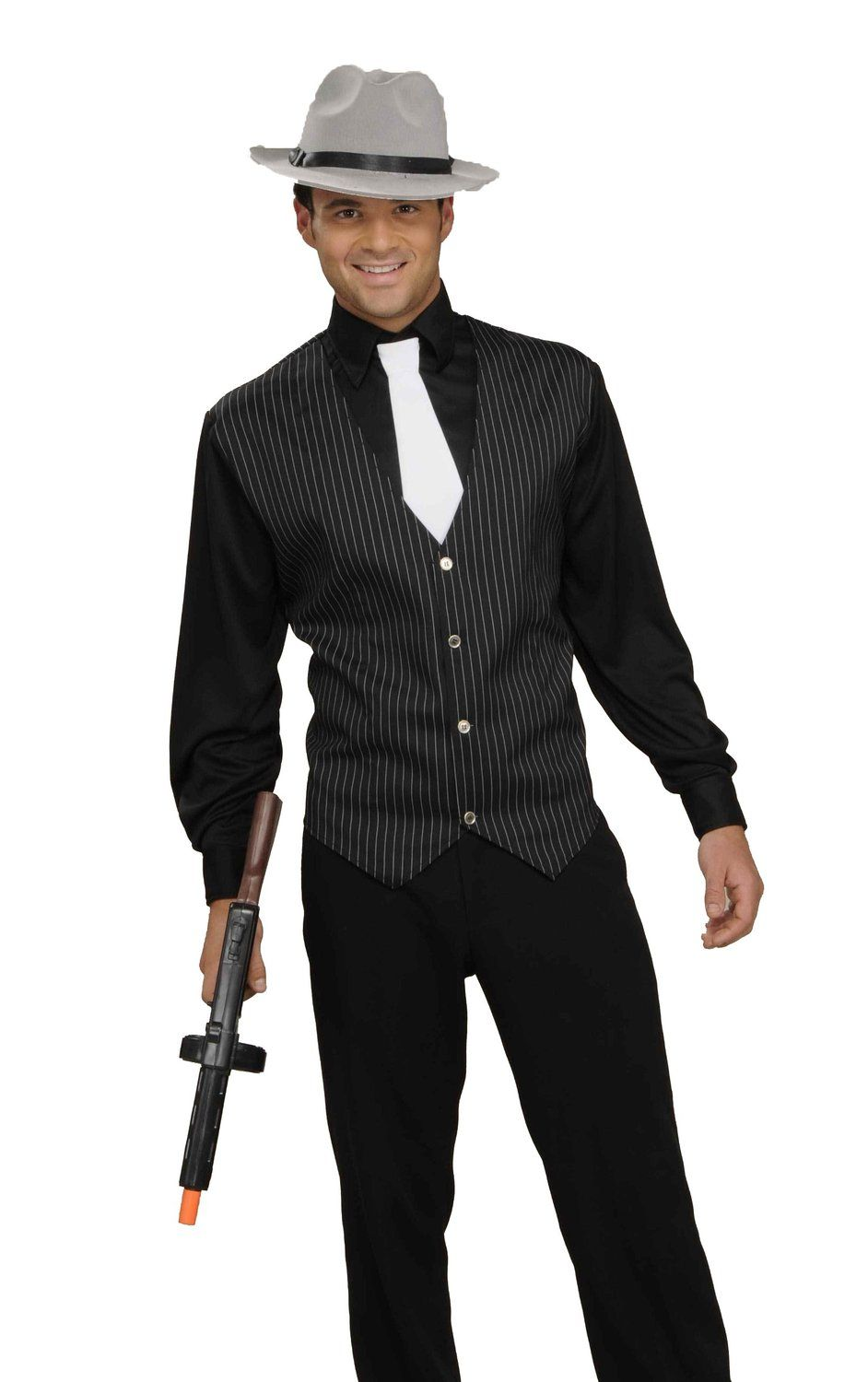 20s gangster outfit for murder mystery game whodunnitmysteriescom - Halloween Mobster Costumes
