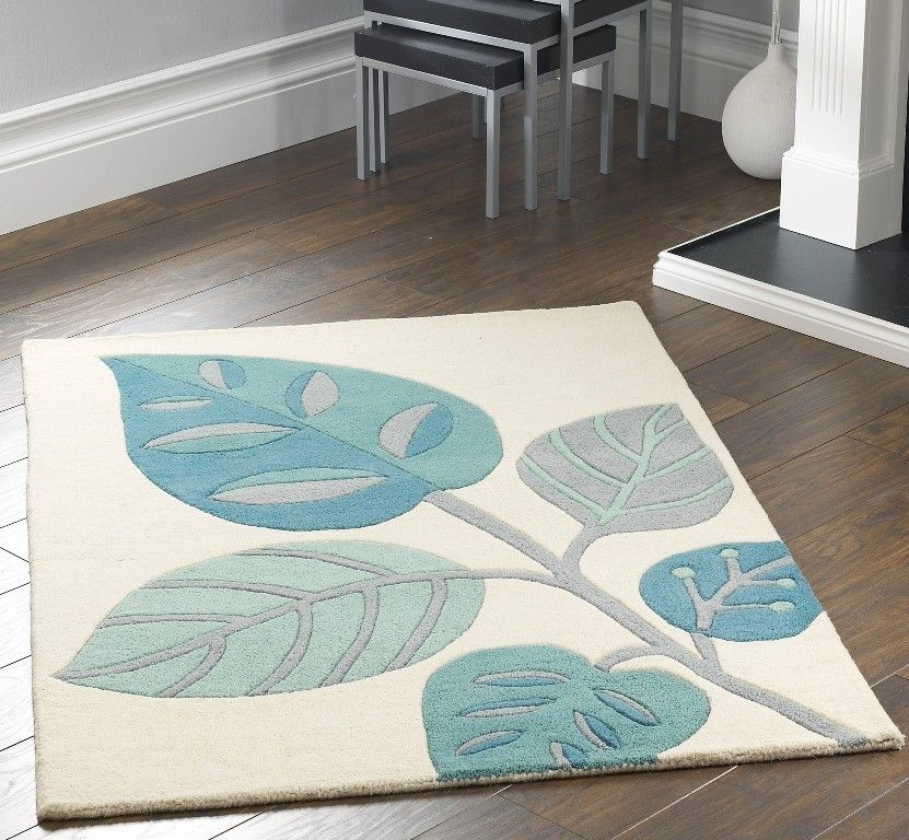 Leaves Teal Image 1 For The Home Pinterest Gy Rug