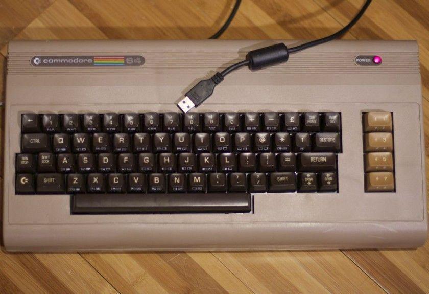 Usb Keyboard From Commodore 64 Keyboard Commodore Arduino