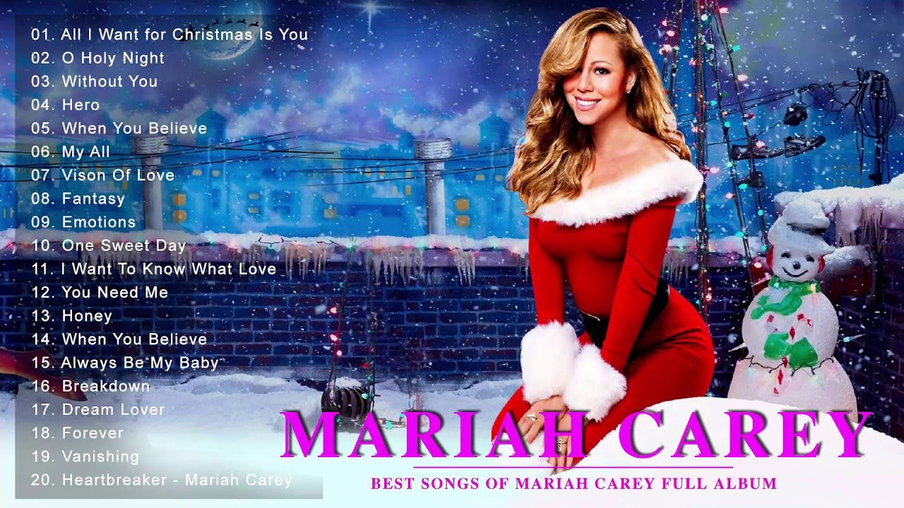Mariah Carey Christmas Songs The Best Of Mariah Carey Mariah Carey Greatest H Mariah Carey Greatest Hits Mariah Carey Christmas Song Mariah Carey Christmas