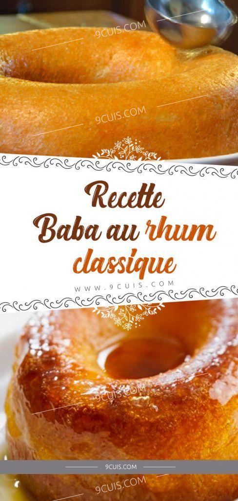 Recette Baba Au Rhum Classique – 99 Cuisine