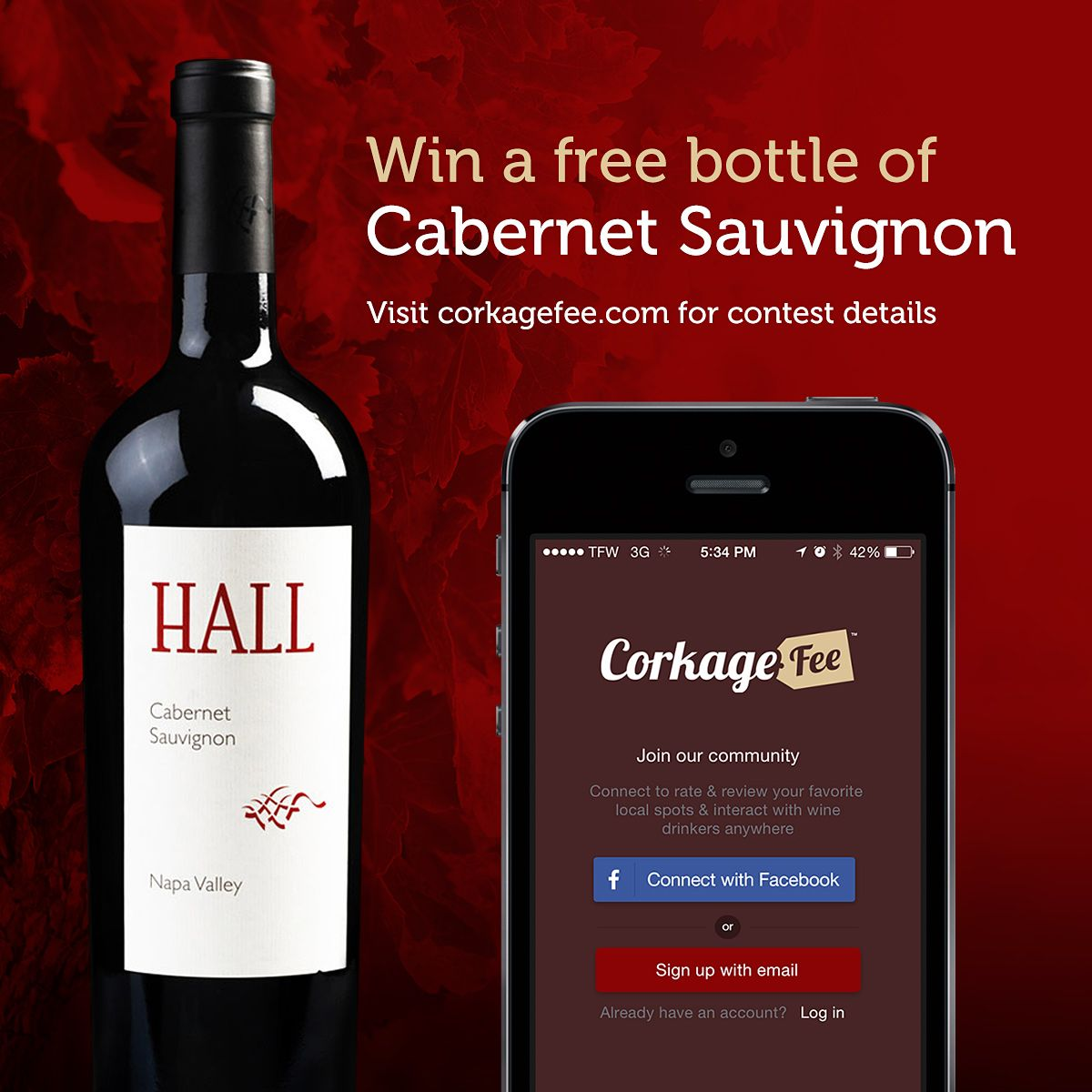 Enter Corkagefee S Wine Giveaway For Your Chance To Win A Bottle Of Hall Wines 2011 Cabernet Sauvignon Wine Bottle Wine Bottle