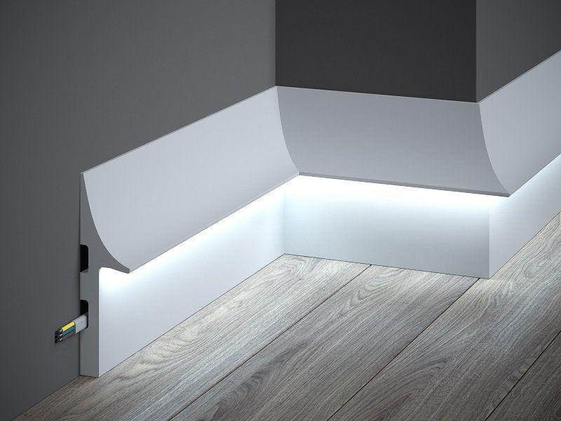 Baseboard lighting moulding 1159 baseboards wall