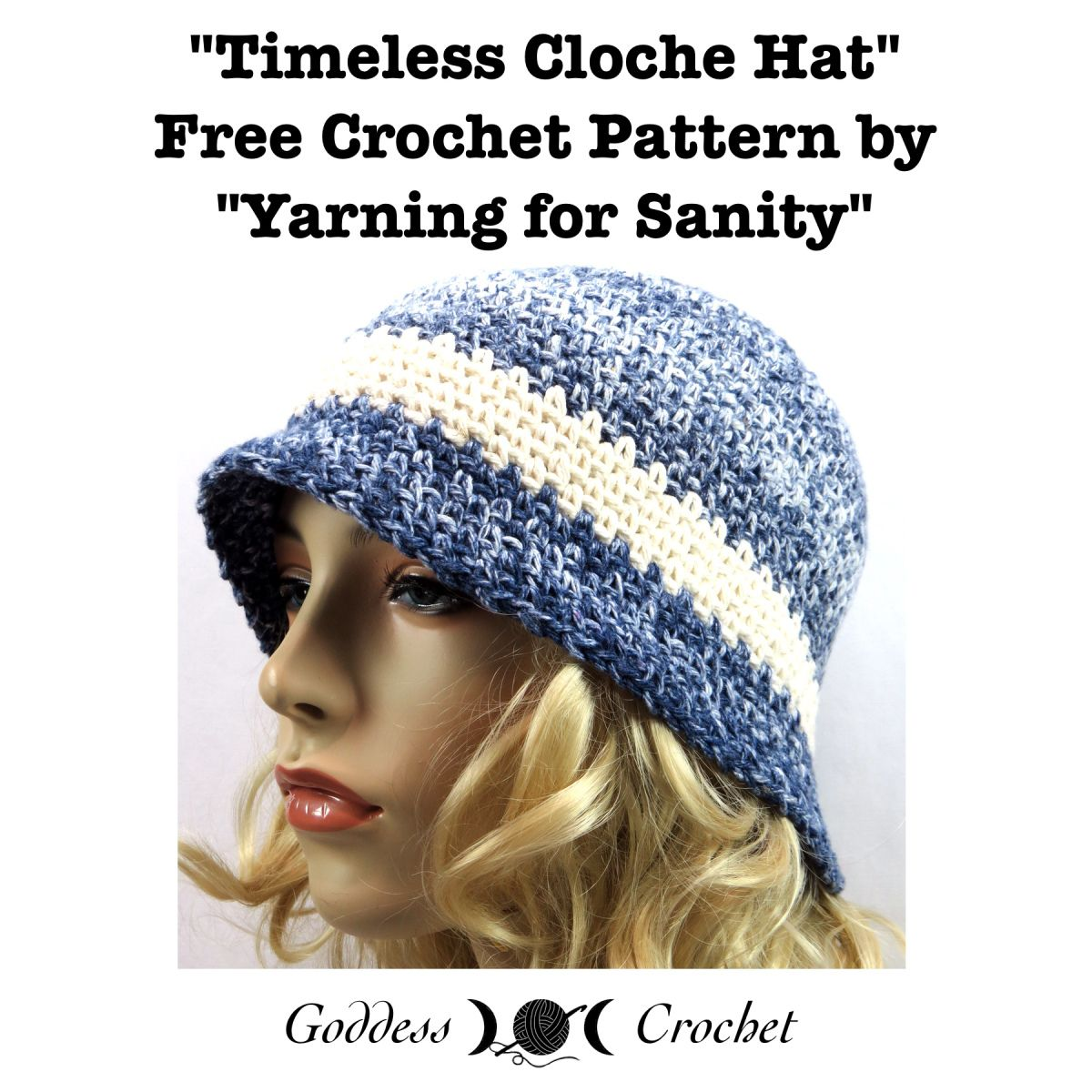 Crochet Pattern review for a flapper cloche hat – free crochet ...