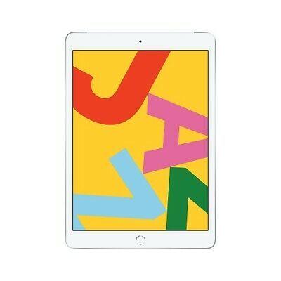 Apple iPad 7th Gen 128GB Silver Cellular MW712LL/A (Latest Model)