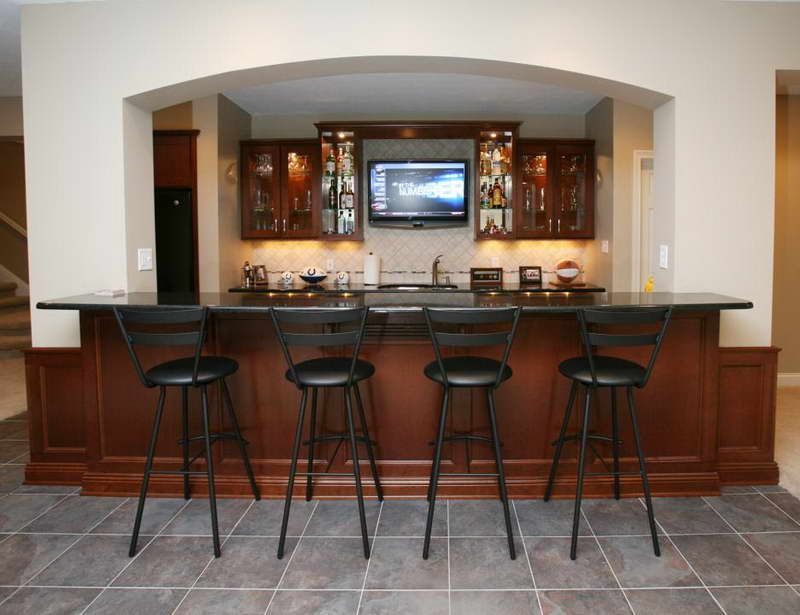 Sketch Of Bar Designs For Home Basements Basement Bar Plans