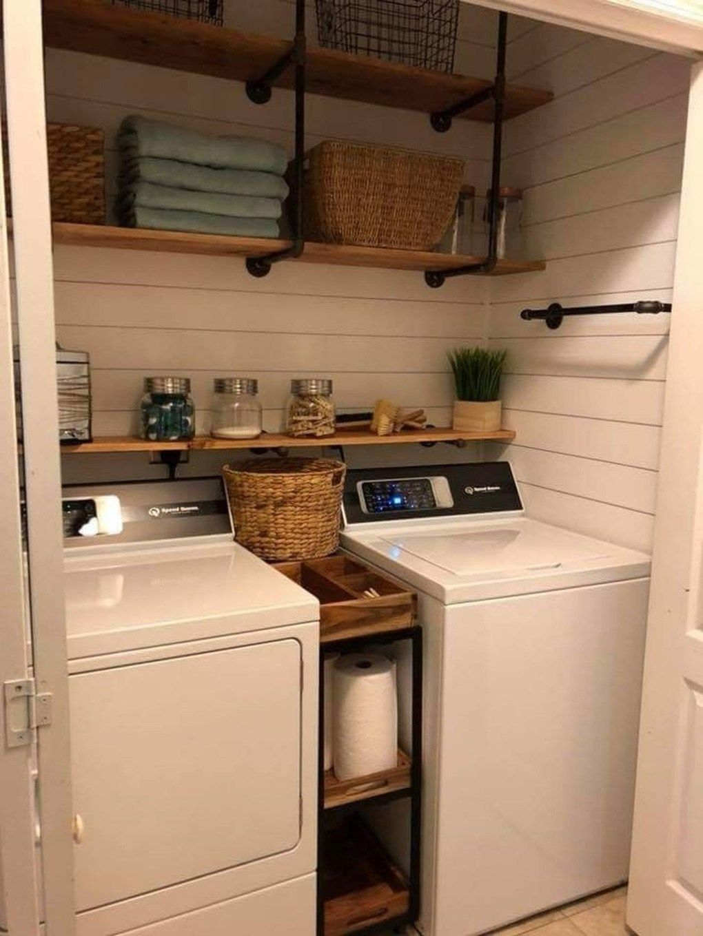 47 Efficient Small Laundry Room Design Ideas images