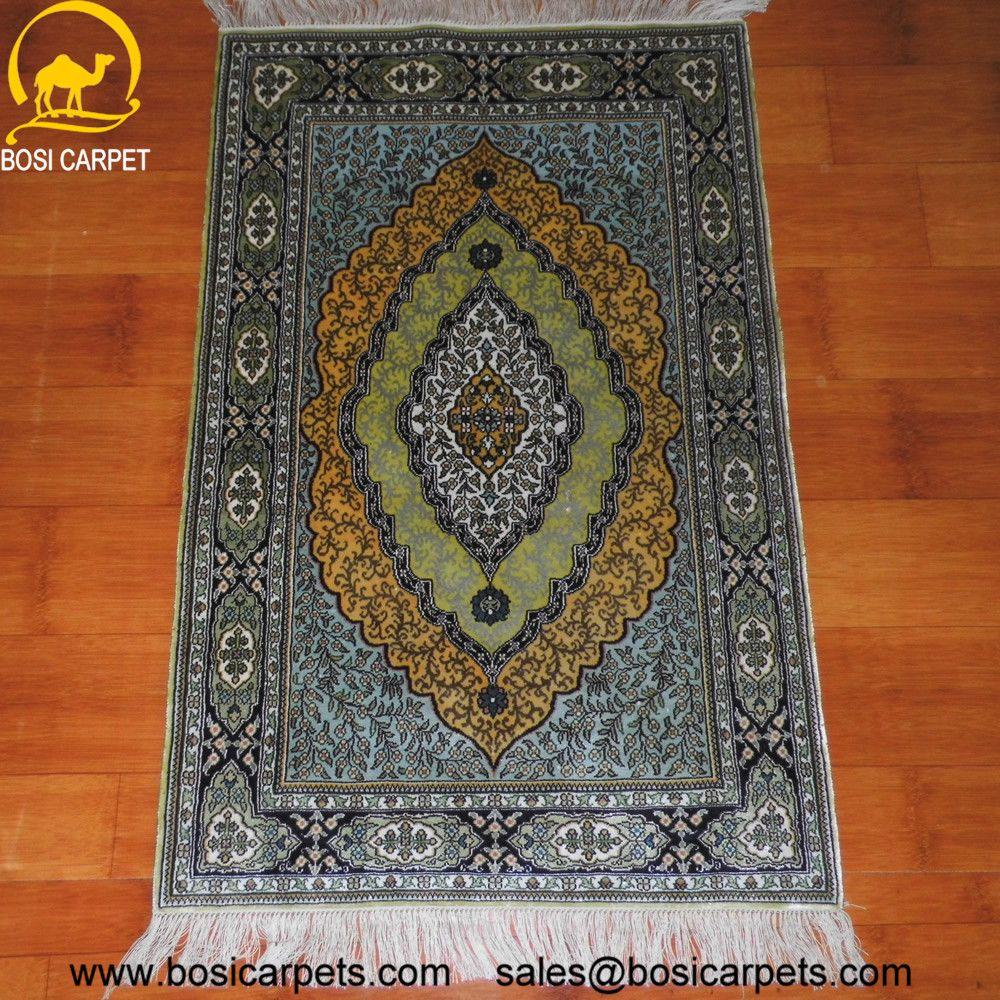 Hand knotted silk rug # Rug No.: P0522 # Quality: 230L (368kpsi) # Size: 2x3ft (61x91cm) # Material: 100% Silk # wholesale Price: $270/piece # If you have any interests, please email to sales@bosicarpets.com                  handmadesilkcarpet#handmaderug#silkrug#silkcarpet#carpet#persiancarpet#persianrugs#rug#handmaderug#handknottedrug#iranrug#chineserug#turkeyrug#turkishcarpets#silkcarpets#silk#floorrug#hali#ipekhai#redrug#bluecarpet#turleycarpet