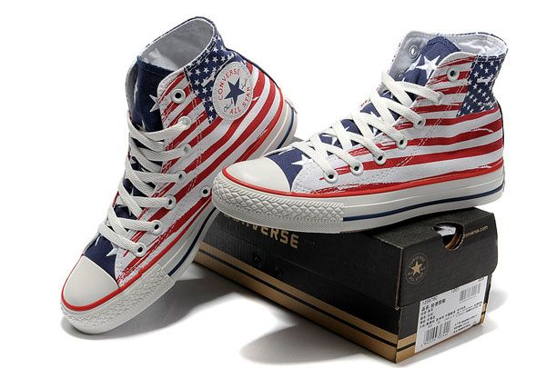 Converse All Star high top - Stars and Stripes