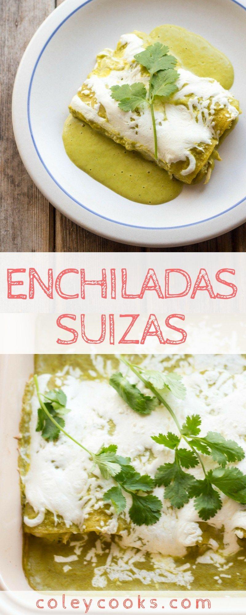 Enchiladas Suizas #mexicanrecipeswithchicken