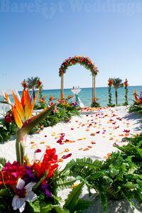 Tropical Barefoot Dsream Deluxe Beach Wedding Package Hawaii Destination Wedding Hawaii Wedding Beach Wedding Packages