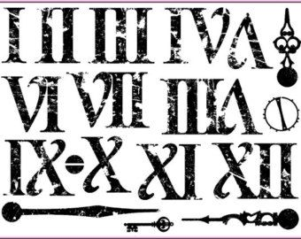 Roman Numeral Font  Google Search  Who Arted