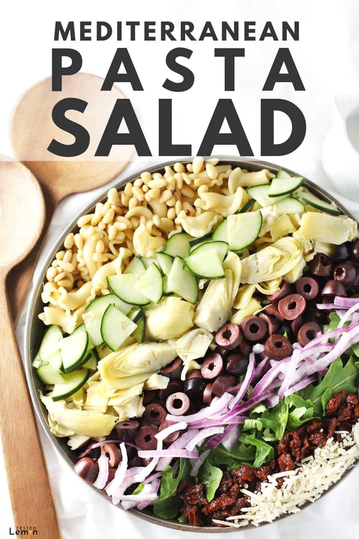 Mediterranean Pasta Salad images