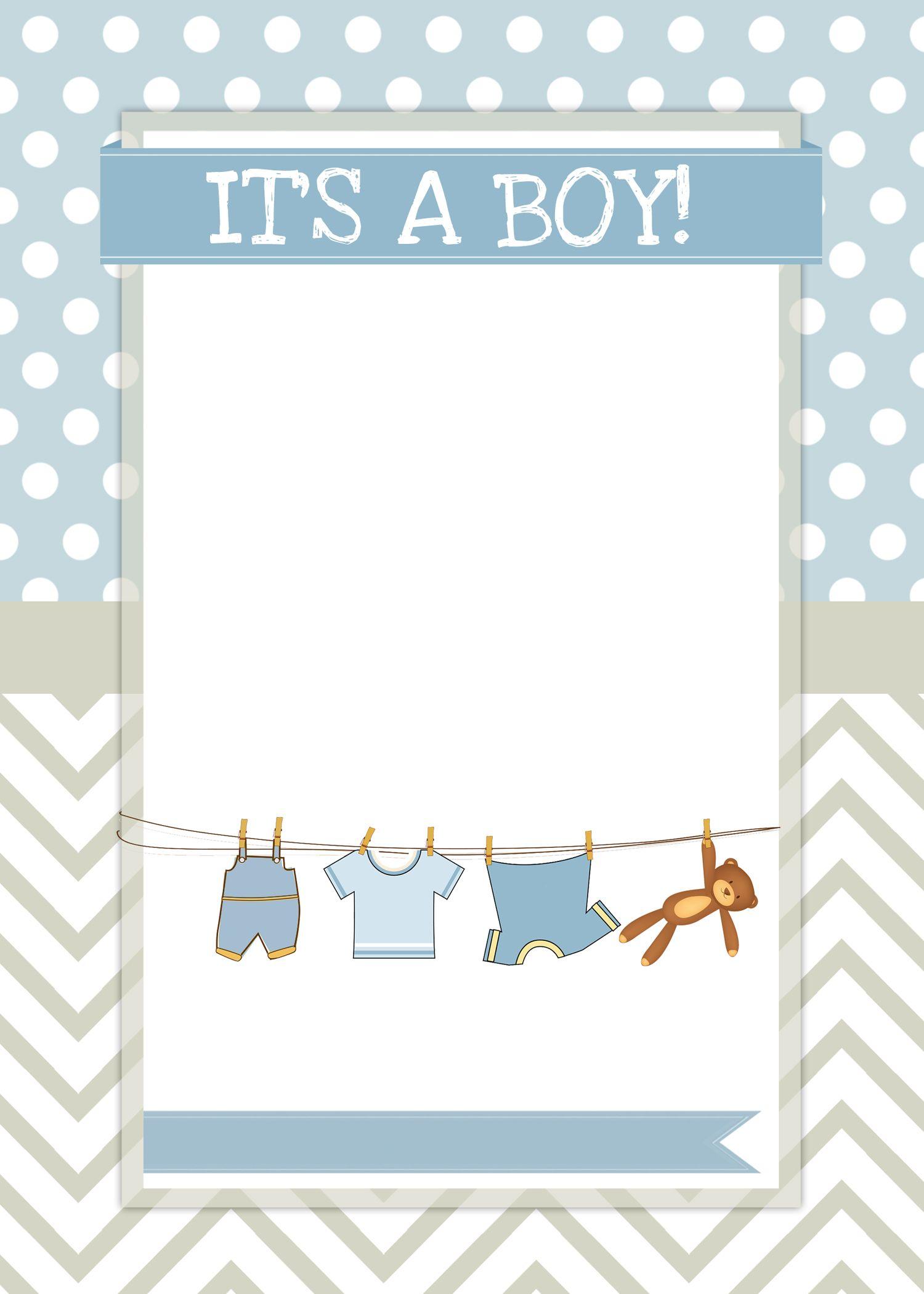 Boy Baby Shower Free Printables Baby Boy Invitations Free Baby Shower Invitations Free Baby Shower Printables