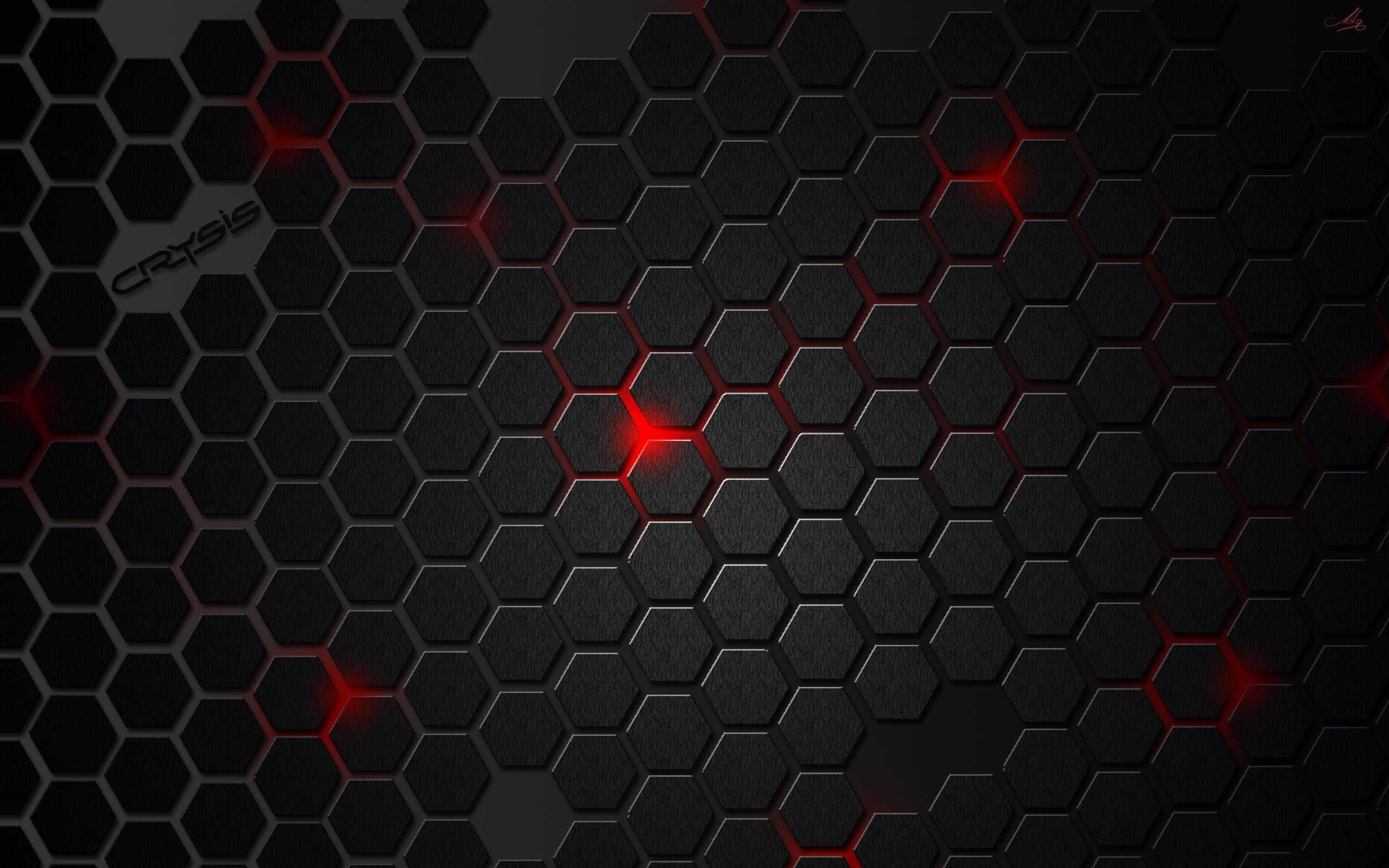 Wallpaper Hd Design Red And Black