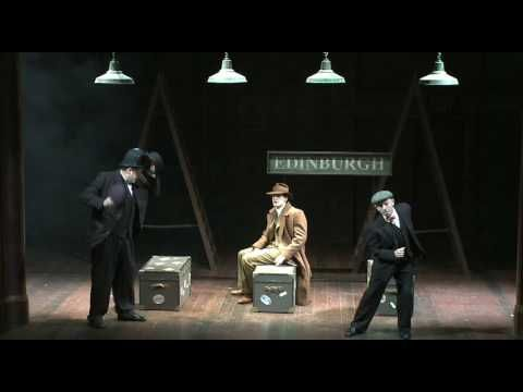 The 39 Steps West End Trailer 2009 Mov Love The Idea Of Using Steam Trunks For Seats The 39 Steps Wellness Design Landscape Design Software