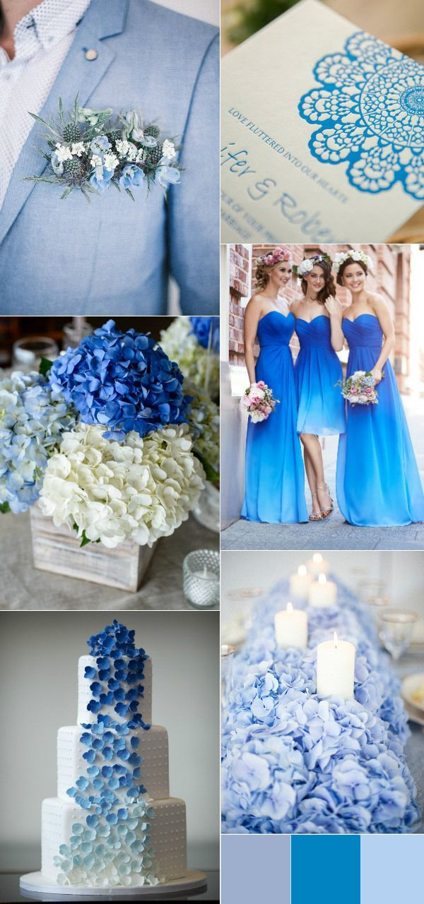 Four Elegant Letterpress Wedding Invitations With Wonderful Color